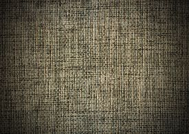picture of uncolored  - Natural linen striped uncolored textured sacking burlap background - JPG