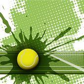 Постер, плакат: теннис