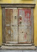 Grunge Painted Door