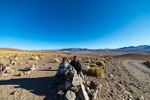 Постер, плакат: Roadtrip On The Andean Highlands Southern Bolivia