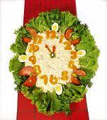 Clock Salad