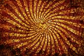 Abstract Grunge  Background Twirled Beams Cracks.