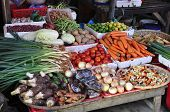 Vegetables On Market
