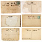 Collection Of Six Vintage Postcards