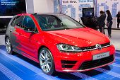 Постер, плакат: Volkswagen Golf R Touch