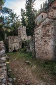 ������, ������: Ruins Of The Byzantine Castle Town Of Mystras