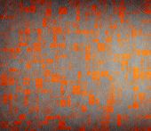 Grunge Abstract Design With Textured Tiles