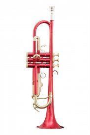 image of wind instrument  - classical music wind instrument trumpet - JPG