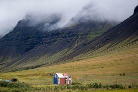 image of iceland farm  - Farm in Iceland - JPG