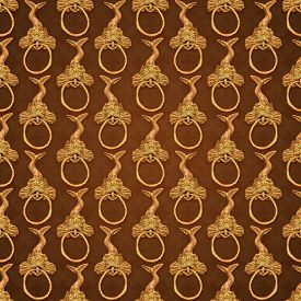 picture of motif  - Digital art monsters ornament art motif medieval pattern in god and brown tones - JPG