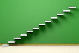 image of plinth  - Business rise forward achievement progress way success and hope creative concept - JPG