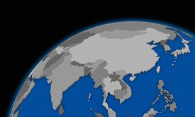 picture of southeast  - southeast Asia on planet Earth political map - JPG
