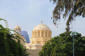 coptic church in ismailia, egypt