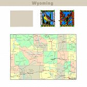 Usa States Series: Wyoming