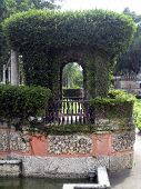Italian Style Garden Arch And Terrace