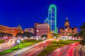 Little Rock, Arkansas, USA downtown skyline on the Arkansas River. poster