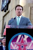 LOS ANGELES - DEC 18:  Arnold Schwarzenegger at the Hollywood Walk of Fame Ceremony for James Camero