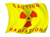 Radiation flag