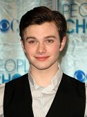 LOS ANGELES - JAN 05:  Chris Colfer