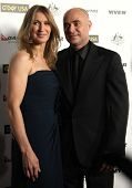 HOLLYWOOD - JAN. 22: Andre Agassi & Steffi Graf arrive at the 2011 G'Day USA Los Angeles Gala  on Ja