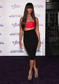 LOS ANGELES - 09 de FEB: LEONA LEWIS llega al Premi