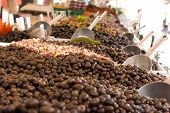 Olives In The Open Market