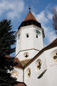 Prejmer fortified church in Transylvania, Romania