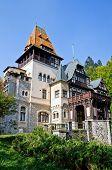 Pelisor Castle. Transylvania, Romania. poster