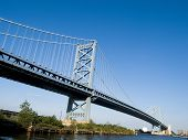 Architecture Tourism Benjamin Franklin Bridge