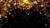 Abstract, Art ,background, Birthday, Bokeh, Bright ,bright Festive Background, Holiday, Champagne Sp poster
