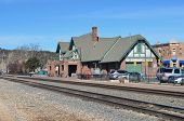 Flagstaff, AZ passenger train station