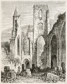 All Saints Abbey ruins (Kloster Allerheiligen), Black Forest, Germany. Created by Stroobant, publish