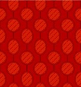Seamless Chinese Pattern Background
