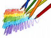 Color pencils error