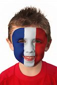 World Cup Face Paint - France