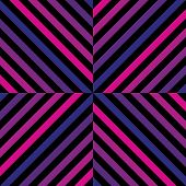 Vector Geometric Seamless Pattern With Colorful Diagonal Lines, Square Tiles. Abstract Repeat Graphi poster