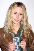 LOS ANGELES - FEB 19:  Gillian Zinser arrives at the 2nd Annual Hollywood Rush at the Wilshire Ebell