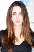 LOS ANGELES - FEB 19:  Madeline Zima arrives at the 2nd Annual Hollywood Rush at the Wilshire Ebell