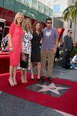 LOS ANGELES - FEB 22:  Malin Akerman, Jennifer Aniston; Kathryn Hahn, Adam Sandler at the Jennifer Aniston Walk of Fame Star Ceremony at the W Hollywood on February 22, 2012 in Los Angeles, CA.