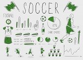 Soccer/football inforgrapic
