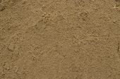 Yellow Sand Texture Background Close-up. Construction Sand, Sandstone, A Lot Of Yellow Sand, Texture poster