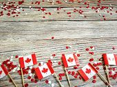 The National Holiday Of July 1- Happy Canada Day , Dominion Day, The Concept Of Patriotism, Independ poster
