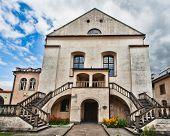 Antiga sinagoga Izaaka na Kazimierz distrito de Cracóvia, Polónia