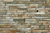 Natural stone pieces tiles for walls