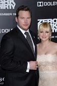 LOS ANGELES - DEC 10:  Chris Pratt, Anna Faris arrive to the 'Zero Dark Thirty' premiere at Dolby Theater on December 10, 2012 in Los Angeles, CA