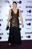 LOS ANGELES - 16 de DEC: Jordin Sparks arribando a la VH1 Divas Concert 2012 en el Shrine Auditorium