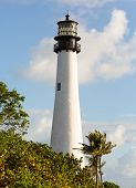 Cape Florida Lighthouse In Bill Baggs