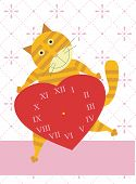 Love time of cat