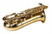 golden concert saxophone