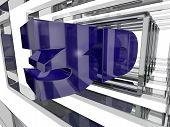 Purple 3D Design